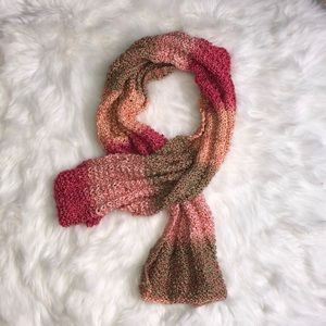 hand knitted scarf!